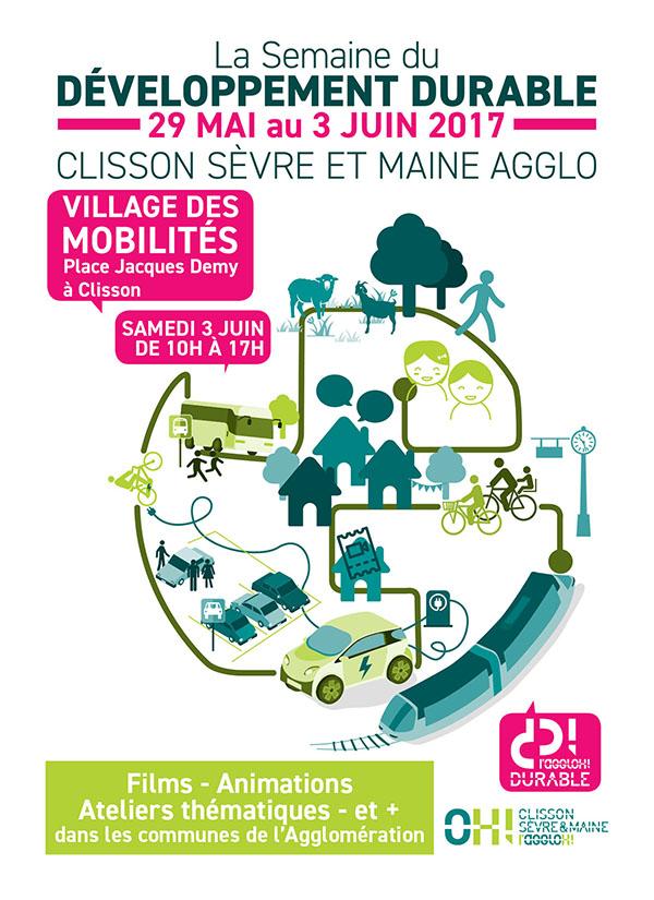 Affiche Semaine du Développement Durable 2017