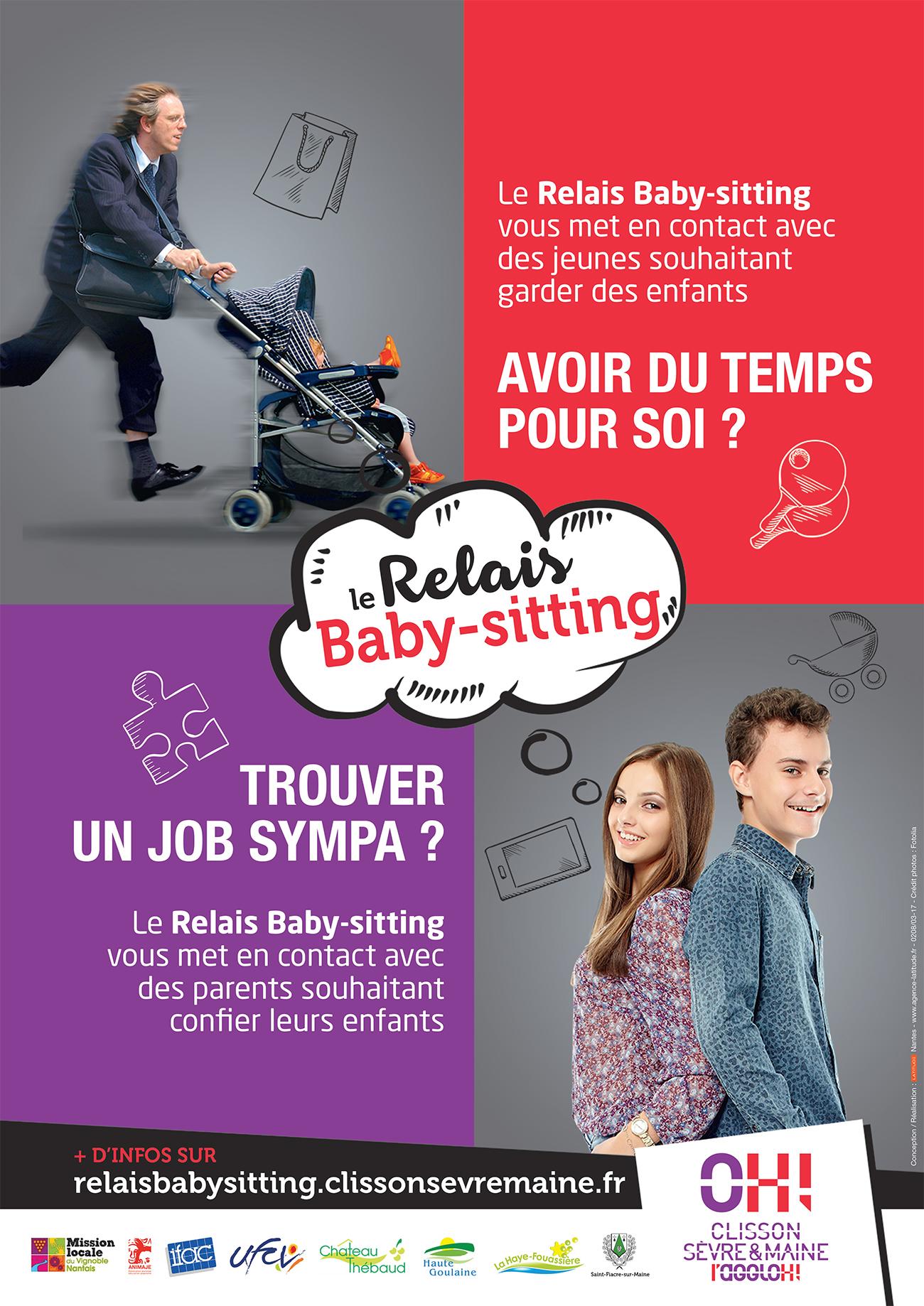 Affiche Relais Babysitting
